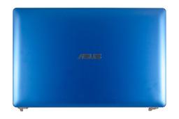 Asus X201E használt kék LCD kijelző hátlap zsanérokkal,13NB00L3AP0102