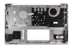 Asus X201E használt szürke magyar laptop billentyűzet modul fehér billentyűkkel, 13NB00L1AM0102-2
