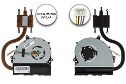 Asus X301A gyári új laptop komplett hűtő ventilátor egység (13GNLO1AM010-1)