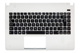 Asus X401, X401A, X401U magyar laptop billentyűzet modul, fehér felső fedéllel, 90R-N402K1D80U