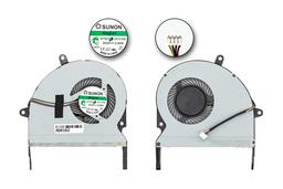 Asus X401A gyári új laptop hűtő ventilátor, 4 pines,(EF75070S1-C010-S99)