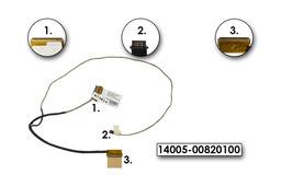 Asus X402CA gyári új laptop LCD kábel, 14005-00820100