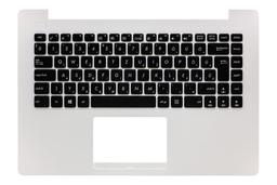 Asus X453MA (R413M) gyári új magyar fehér-fekete laptop billentyűzet modul (990NB04W2-R31HU0)