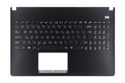 Asus X501, X501A gyári új fekete-fekete UK angol laptop billentyűzet, 90R-NM01K1180U
