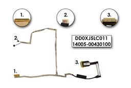Asus X501A, X501U gyári új laptop LCD kábel, 14005-00430100