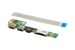 Asus X502CA notebookhoz gyári új USB és audio panel kábellel (90NB00I0-R12000, 14010-00064700)