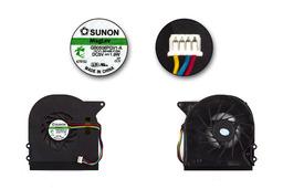 Asus X51, X58, Packard Bell EasyNote MX456, ALP-AJAX GN3, MX65, MX66, MX67 használt laptop hűtő ventilátor (GB0506PGV1-A)