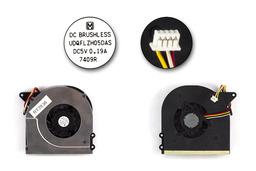 Asus X51, X58, Packard Bell EasyNote MX456, MX65 használt laptop hűtő ventilátor (UDQFLZH05DAS)