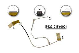 Asus X550 laptop Gyári új LCD kábel (1422-01FY000)