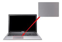 Asus X550 laptophoz gyári új touchpad fólia, Touchpad sticker, 13NB00T1L09011