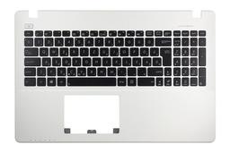 Asus X550CA, X550CC gyári új fehér ezüst mintás laptop felső fedél magyar fekete billentyűzettel (90NB00T3-R31HU0)