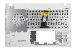 Asus X550CA, X550CC gyári új magyar fekete-fehér laptop billentyűzet modul, 90NB00T3-R31HU0