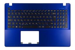 Asus X550CA, X550CC,  gyári új magyar kék laptop billentyűzet modul, 90NB00T6-R31UI0