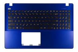 Asus X550CA, X550CC,  gyári új US angol kék laptop billentyűzet modul, 90NB00T6-R31UI0