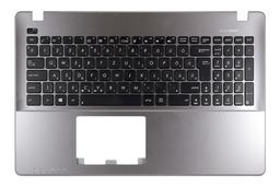 Asus X550CA, X550CC, X550VC gyári új ezüst-fekete magyar laptop billentyűzet, 90NB00T1-R31HU0