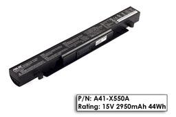 Asus X552 sorozat X552C laptop akkumulátor, gyári új, 4 cellás (2950mAh)