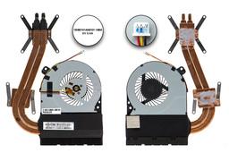 Asus X550DP gyári új laptop komplett hűtő ventilátor egység (13NB01N1AM0102)