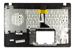 Asus X550CA, X550LA, X550JX gyári új magyar szürke - fekete laptop billentyűzet modul (90NB02G1-R31HU0, 90NB00T1-R31HU0)