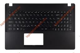 Asus X551MA, F551MA használt magyar fekete laptop billentyűzet modul, 90NB0481-R30140