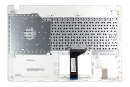 Asus X551MA, F551MA gyári új magyar fehér laptop billentyűzet modul, 90NB0482-R30130