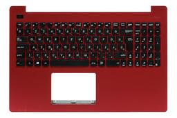 Asus X553MA, X553SA gyári új magyar piros laptop billentyűzet modul (90NB04X4-R31HU0)