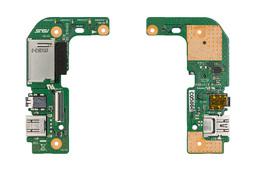 Asus X555LA, X555LD, X555LF, X555LN gyári új laptop USB/audio/kártyaolvasó panel (90NB0620-R10010)
