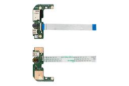 Asus X555LA, X555LD, X555LF, X555LN használt laptop USB/audio/kártyaolvasó panel kábellel (90NB0620-R10010)