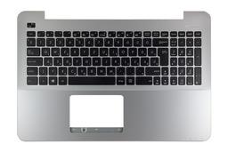 Asus X555LA, X555LD, X555LN gyári új magyar ezüst-fekete laptop billentyűzet modul (90NB0621-R31HU0)