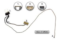 Asus X555LJ, X555LA használt laptop LCD kábel (1422-01UR0AS)