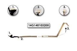 Asus X58LE laptophoz használt Inverter kábel mikrofonnal, 14G140103200