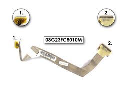 Asus Z53M, X53, F3, PRO31F laptophoz LCD kábel, 08G23FC8010M
