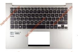 Asus ZenBook UX32A, UX32V UX32VD gyári új magyar ezüst háttér-világításos laptop billentyűzet, 13NB0511AM0201, 9Z.N8JBU.60Q