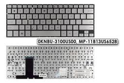 Asus ZenBook UX31A gyári új US angol ezüst laptop billentyűzet (0KNBU-3100US00)