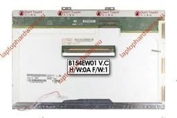 AU Optronics B154EW01 V.C WXGA CCFL 15.4 inch használt B kategóriás fényes laptop kijelző