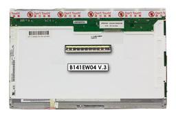 AU Optronics B141EW04 V.3 használt matt 14.1'' (1280x800) CCFL laptop kijelző (csatlakozó: 30 pin - jobb felül)