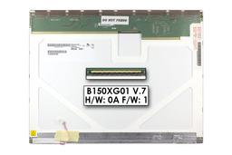 AU Optronics B150XG01 (V.7) használt 15 matt CCFL kijelző