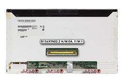 AU Optronics B156XTN02.2 használt fényes 15.6'' HD (1366x768) LED laptop kijelző (csatlakozó: 40 pin - bal)