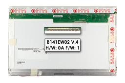 AUO 14.1 (1280x800) gyári új matt CCFL laptop kijelző (B141EW02 V4)