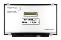 AUO B140RTN02.3 14.0'' eDP HD+ 1600x900 használt Slim LED matt laptop kijelző, 04X0394