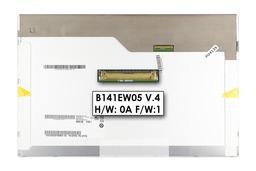 Gyári új matt 14.1'' (1280x800) LED laptop kijelző (csatlakozó: 40 pin - bal)