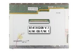 AUO B141XG08 EDIDV1.1 14,1'' XGA használt matt notebook kijelző