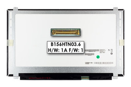 Gyári új matt 15.6'' Full HD (1920x1080) LED laptop Slim kijelző (csatlakozó: 30 pin - jobb)
