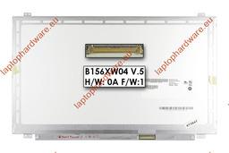 AUO B156XW04 V5 15,6 inch WXGA 1366x768 HD SLIM LED használt fényes laptop kijelző