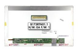 Gyári új fényes 17.3'' HD+ (1600x900) LED laptop kijelző (csatlakozó: 30 pin - bal)