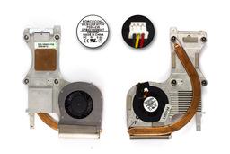 Averatec 2100, 2150, Medion MD96400 használt komplett laptop hűtő ventilátor egység (E32-1300030-F05)