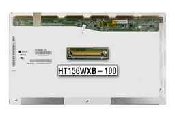 BOE HT156WXB-100 15,6 inch WXGA 1366x768 fényes C kategóriás használt laptop kijelző