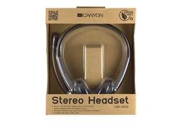 Canyon Stereo Headset fejhallgató mikrofonnal, CNF-HS02