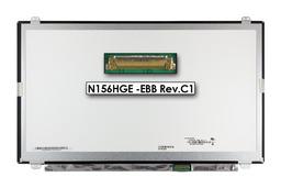 Gyári új fényes 15.6'' Full HD (1920x1080) eDP LED laptop Slim kijelző (csatlakozó: 30 pin - jobb)