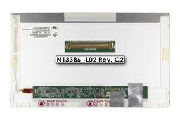 Gyári új fényes 13.3'' HD (1366x768) LED laptop kijelző (csatlakozó: 40 pin - jobb)