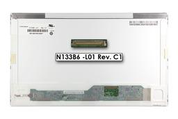 Gyári új matt 13.3'' HD (1366x768) LED laptop kijelző (csatlakozó: 40 pin - jobb)